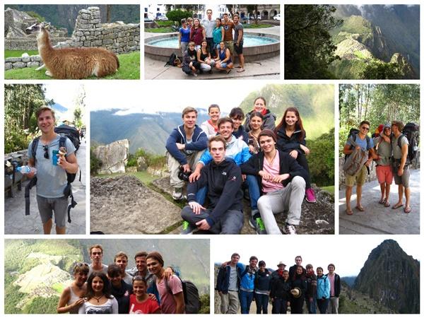 Semestertreffen auf dem Machu Picchu