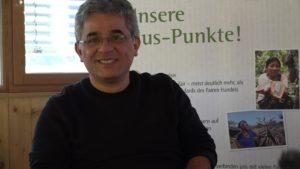 Kleber Cruz García vom Produktmanagement Kaffee der GEPA