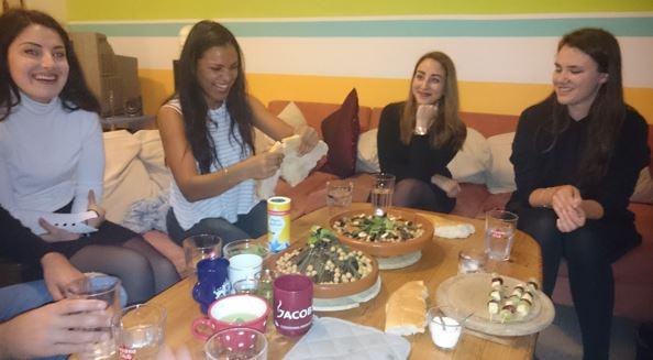 Running Dinner - Orientalisch angehauchte Küche