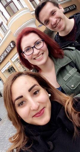 Studierende aus Passau und Erfurt nutzen eine frühzeitige Ankunft am 17.3.17, um die Regensburger Altstadt zu erkunden.