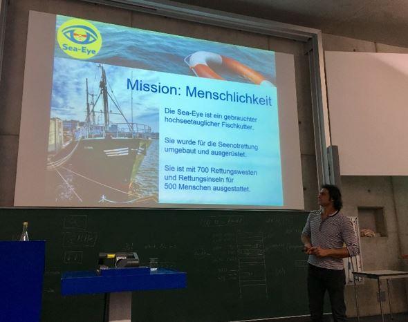 Mission Menschlichkeit - alles andere sei untragbar, betont Michael Buschheuer.